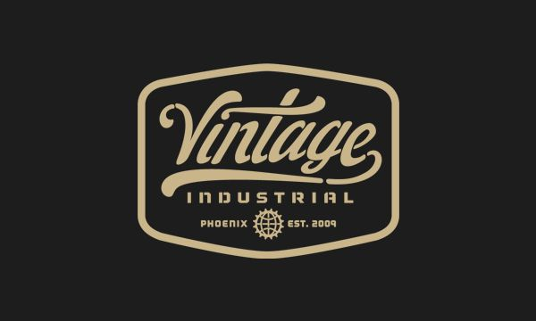 Vintage Industrial by Forefathers Group , via Behance