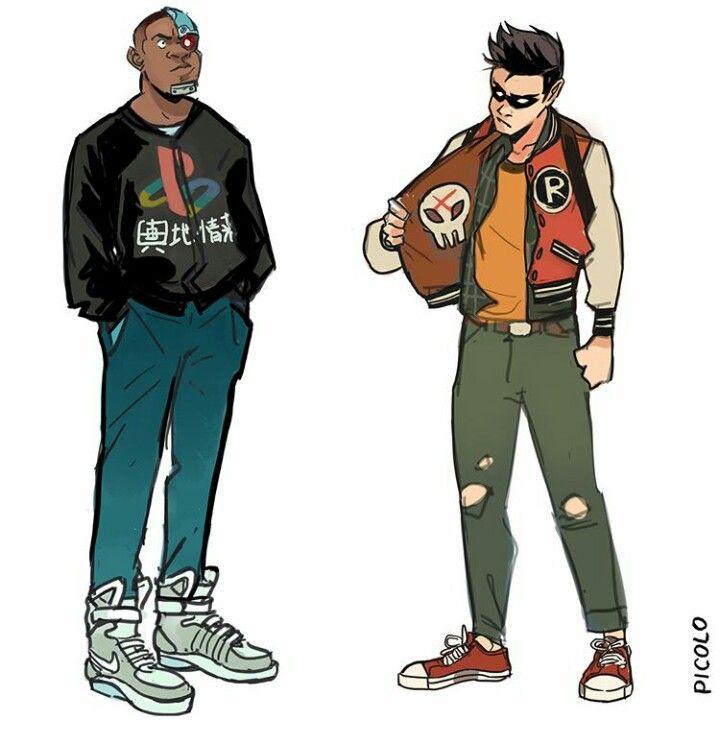 By Gabriel Picolo Insta: @_picolo Teen Titans: Cyborg, and Robin