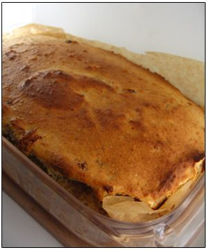 Recept broodpudding met rozijnen - Meersmaak