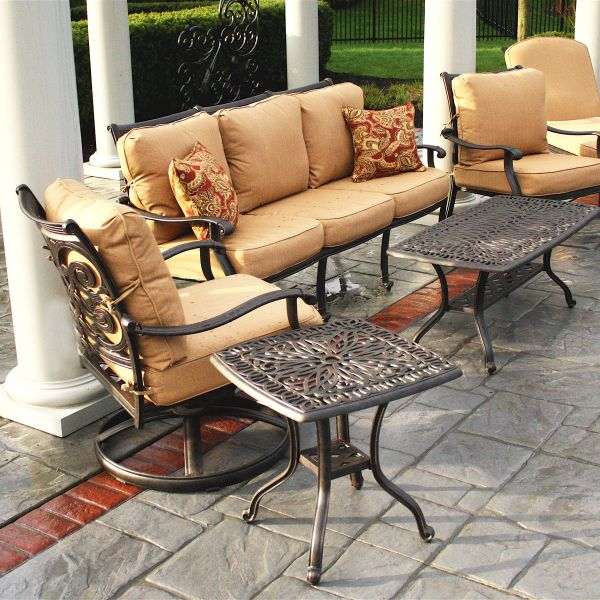 Victoria Deep Seating Patio Furniture By Alfresco | Family Leisure