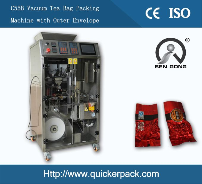 C55B Tea Vacuum Packaging Machine with Inner Bag