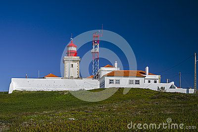 The Cabo da Roca Lighthouse (Portuguese: Farol de Cabo da Roca) is a beacon/lighthouse located 165 metres above the Atlantic Ocean, on Portugals (and continental Europes) most westerly extent (Cabo da Roca). It is located in the civil parish of Colares, in the municipality of Sintra, situated on a promontory that juts out into the ocean, made up of granite boulders and interspersed limestone. It is a third-order lighthouse, which originally began operating in 1772. It was the first new…