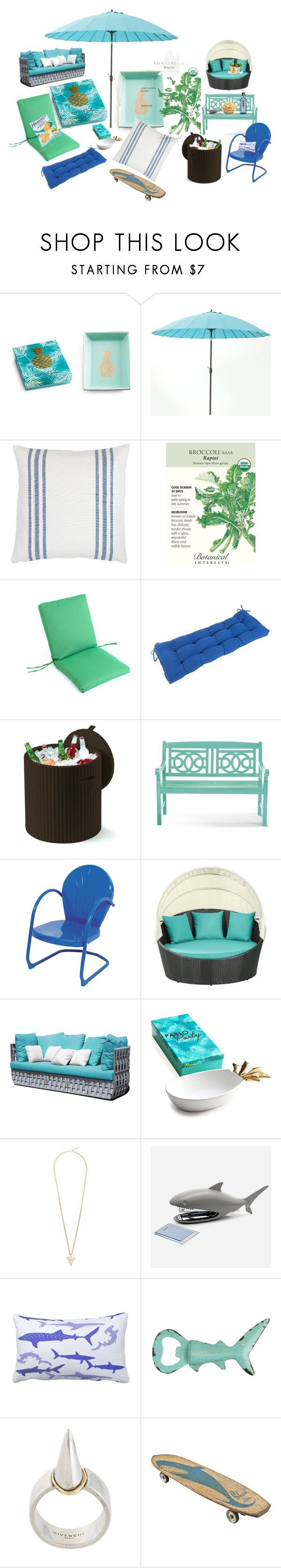 """""""🐳43 DAYS, 10 HOURS, SHARK WEEK 2017🐬"""" by forever-seventeen ❤ liked on Polyvore featuring interior, interiors, interior design, home, home decor, interior decorating, Rosanna, Keter, Skyline and Givenchy"""