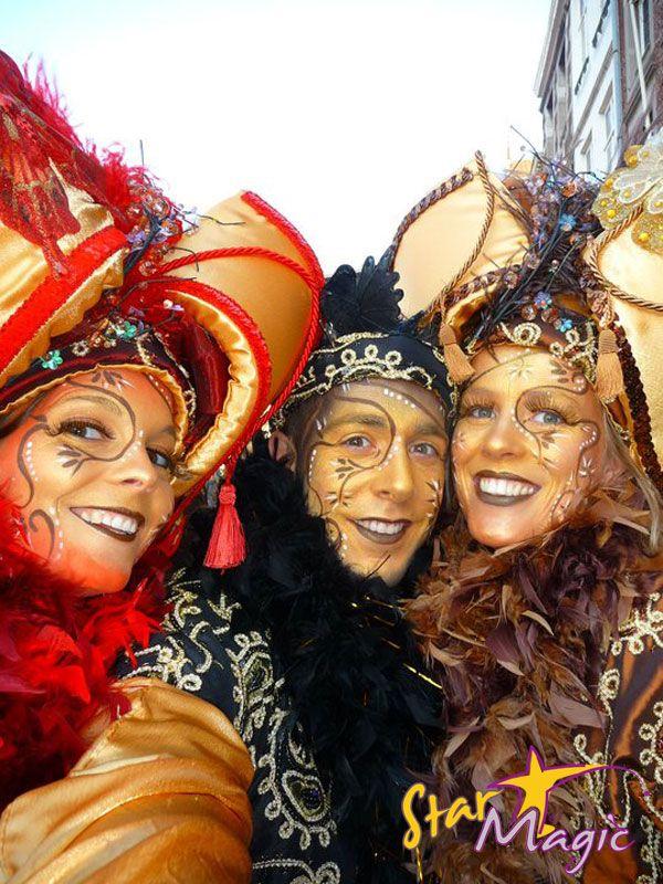 Fotowedstrijd Carnaval 2011 | Fotowedstrijd Schminkcreaties
