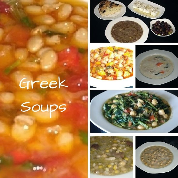 Recipes for Greek Soups