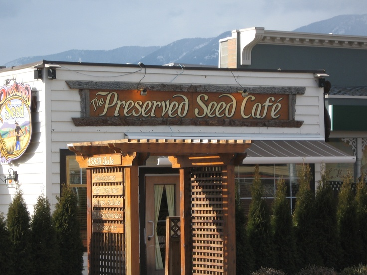 The Preserved Seed Cafe and The Yellow Deli.