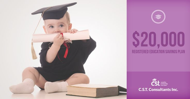 Education is expensive. Set your little one up for success with a CST RESP that will really lighten the load.
