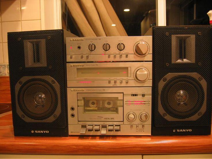 Sanyo JXT 4800MK Stereo System,