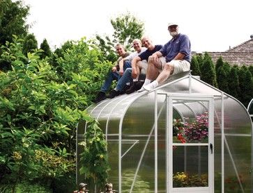 Sungarden Greenhouse - contemporary - greenhouses - other metro - by BC Greenhouse Builders Ltd