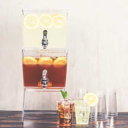 3 Gallon Stacking Beverage Dispensers by SmartyHadAParty.com!