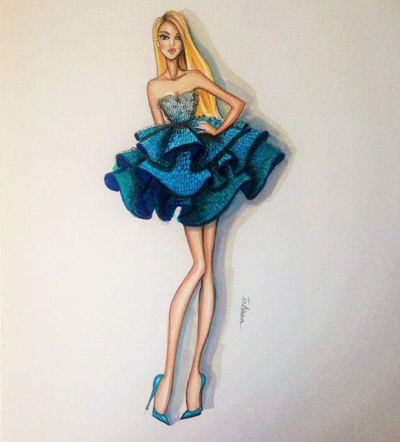 más de 25 bellas ideas sobre bocetos de diseño de moda en