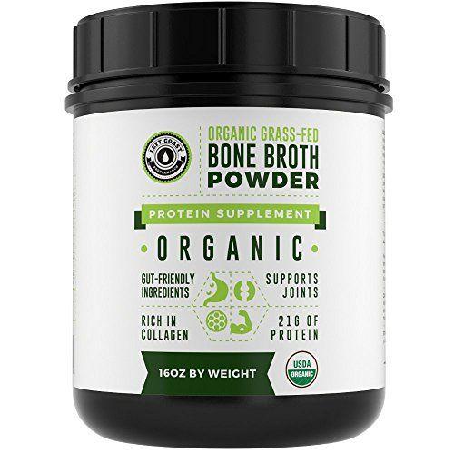 Organic-Grass-Fed-Beef-Bone-Broth-Protein-Powder-16oz-20-Servings-Unflavoured-Pure-Keto-Friendly-Protein-Powder-Paleo-USDA-Certified-Organic-Left-Coast-Performance #keto#weightloss#ketodiet#fatloss#fitness