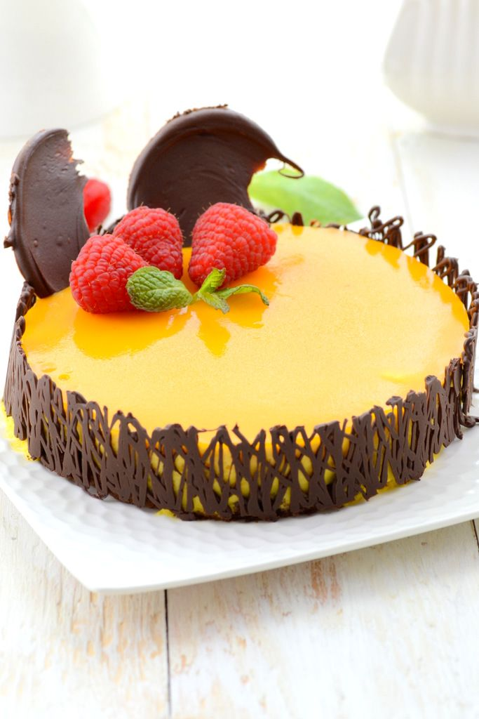 Whisk Affair: Mango Mousse Cake