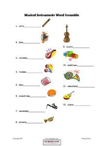 esl music and songs printable worksheets help by teaching your students musical vocabulary words. Black Bedroom Furniture Sets. Home Design Ideas