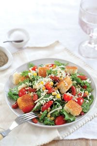 Tex-Mex Cornbread Salad  -- From cooking with Paula Deen
