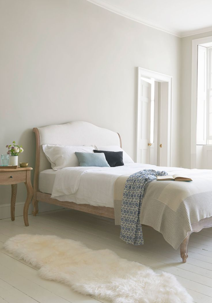 This beautiful French bed in weathered oak is handmade by the graduates of a traditional carving school. Our Coco bed is as popular as she is pretty.