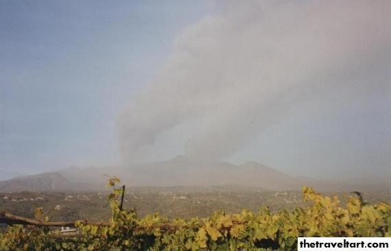 Mount Etna Sicily Erupting & Earthquakes | The Travel Tart Blog