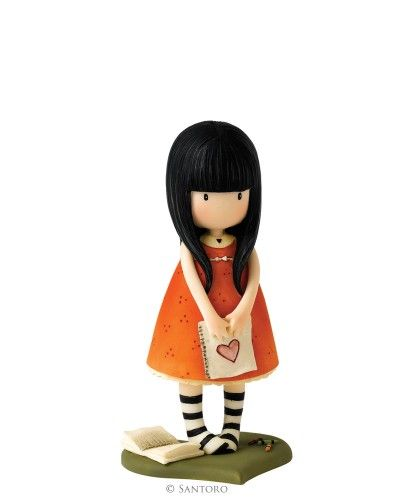 "I Gave You My Heart, Gorjuss 4"" Figurine £19.00 original design by Suzanne Woolcott"