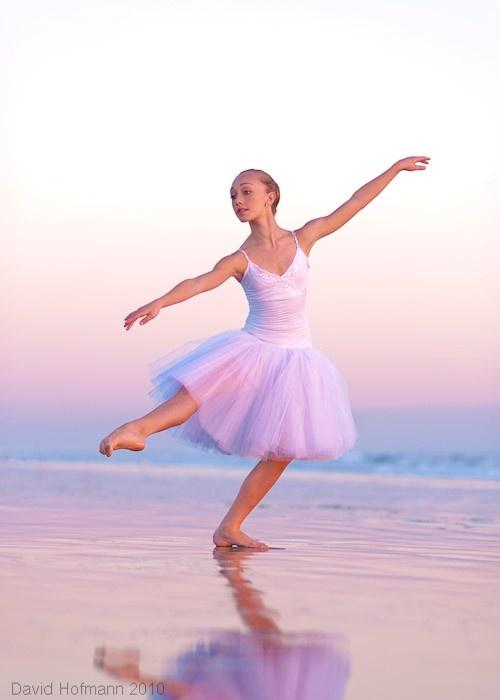 Ballet dancer at the beach | Dancers | Pinterest