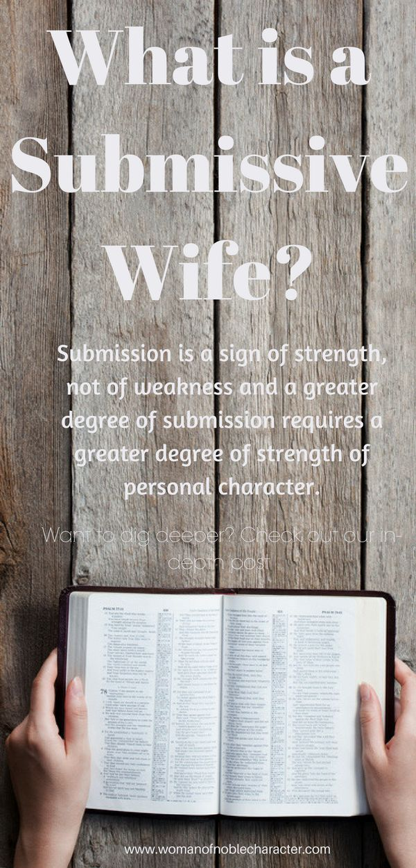 What does it mean to be a submissive wife? Does it mean that you are a slave to your husband's every whim? Or does it mean something more? #wife #submissivewife #submissiveness #husband #marriage #biblicalmarriage #Christianmarriage #Christian #Christianwoman #Christianwife