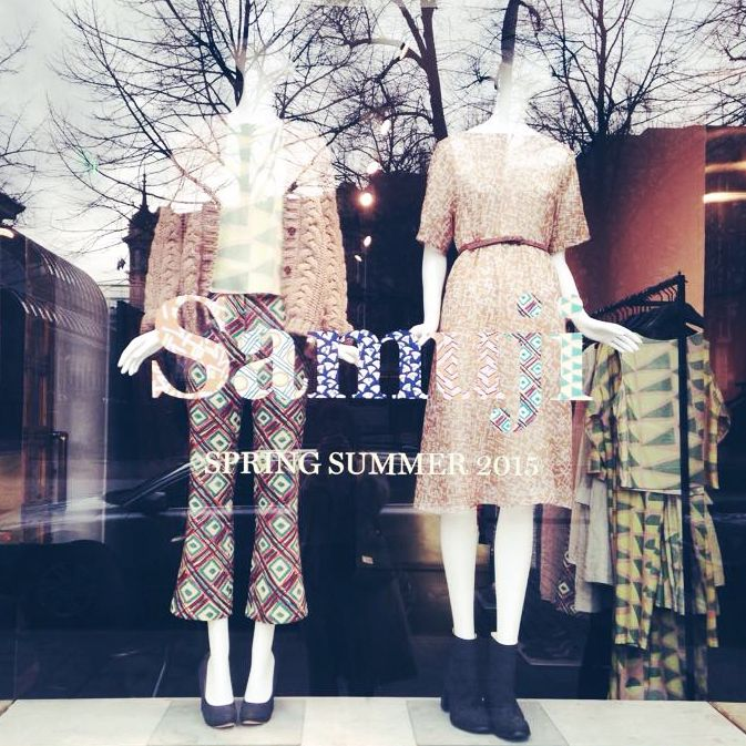 Spring in Samuji shop window