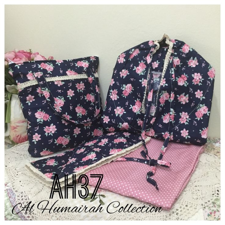 Al Humaira Telekung Cotton – AH37  RM150.00  – Telekung cotton with printed design  – Special vintage style design  – Japanese cotton material  – Face size up to L size  – Set includes beautiful handmade bag & mini sajaddah  – Limited pieces  http://www.telekung.co/product/ah37/