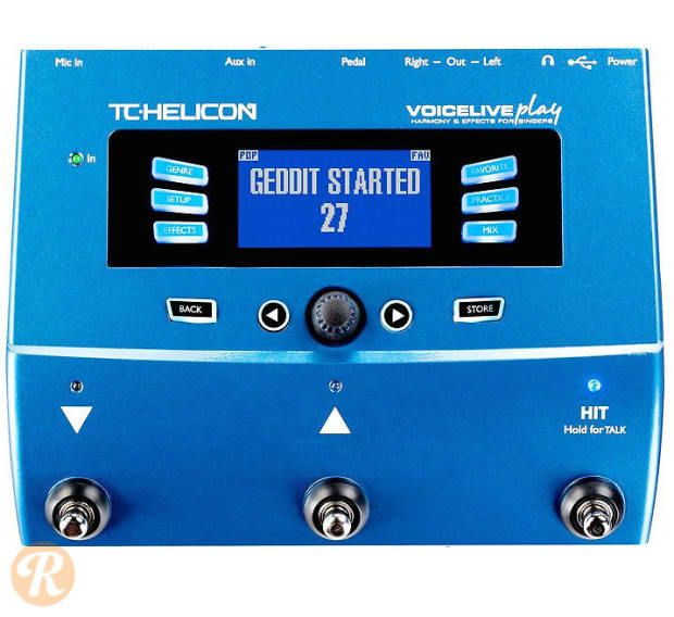 The TC HeliconVoicelive Play is a multieffects processor for vocalists…
