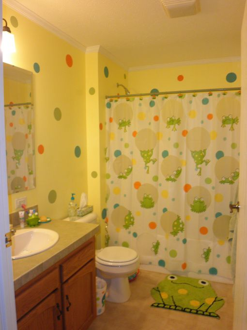 28 best children's bathroom images on pinterest | frog bathroom