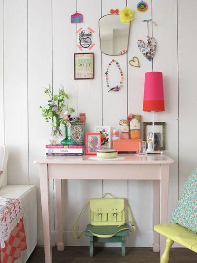 sweet girl's desk