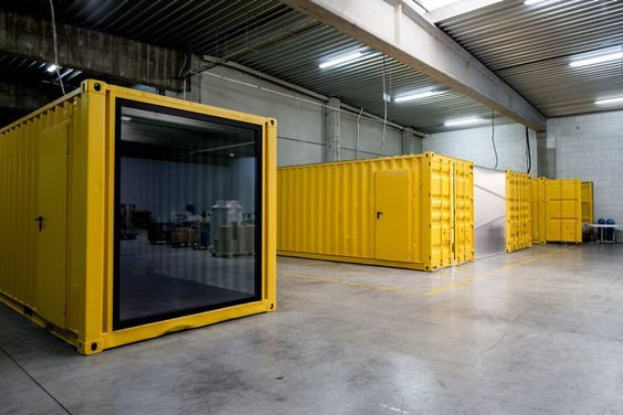 Five AM's Shipping Container Offices: