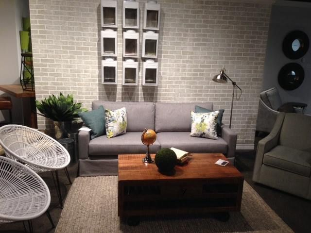Toronto Showroom 2016 - Bloom Lounge Chairs & Cottage Coffee Table