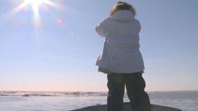 Login (Canvas) met enkele drastische gevolgen in Alaska ten gevolge van de opwarming van de aarde.