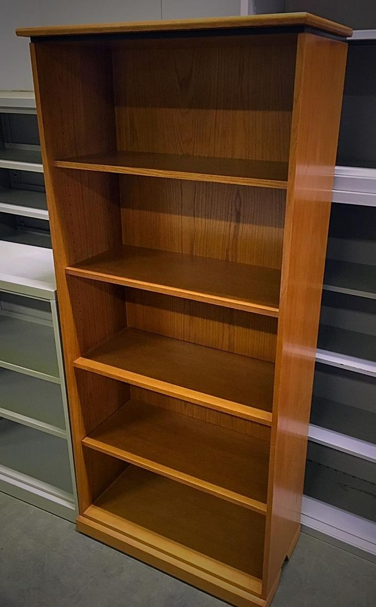 office furniture shelves. Solid Wood Book Shelf $139 Beautiful 5 Bookcase. Look At This Great Deal. Office Furniture Shelves P