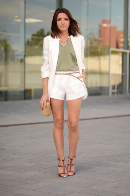 242 best Blazer and shorts images on Pinterest