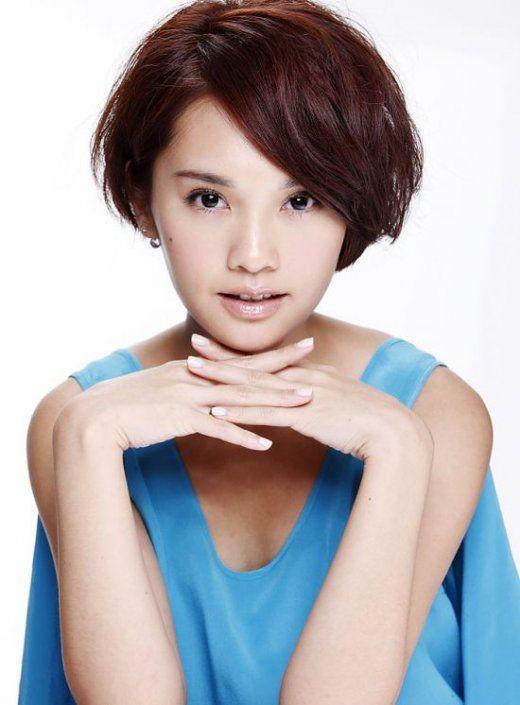 Rainie Yang Short Hair Bangs