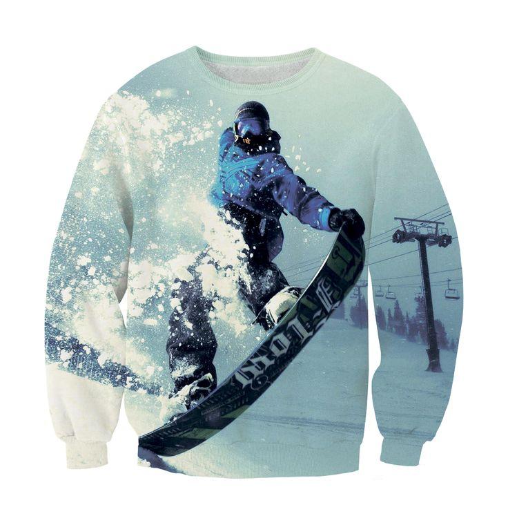 Sweatshirt snowboard