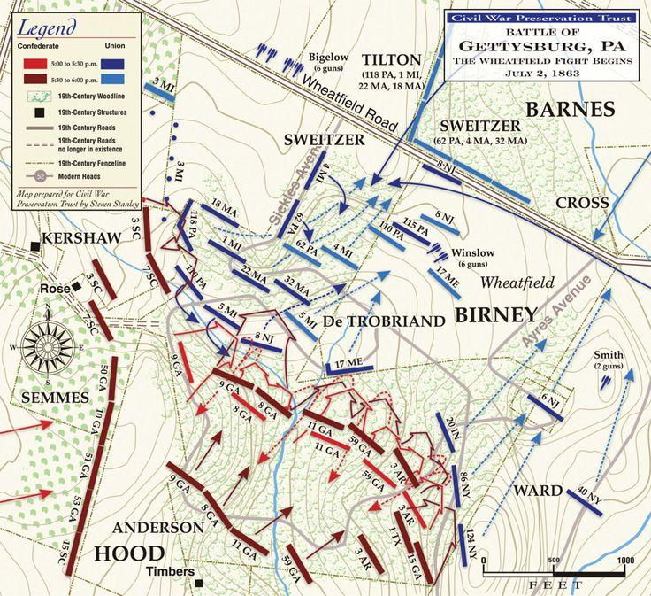 Battlefield Maps On Pinterest Timeline Tool American History - Gettysburg pa in us map