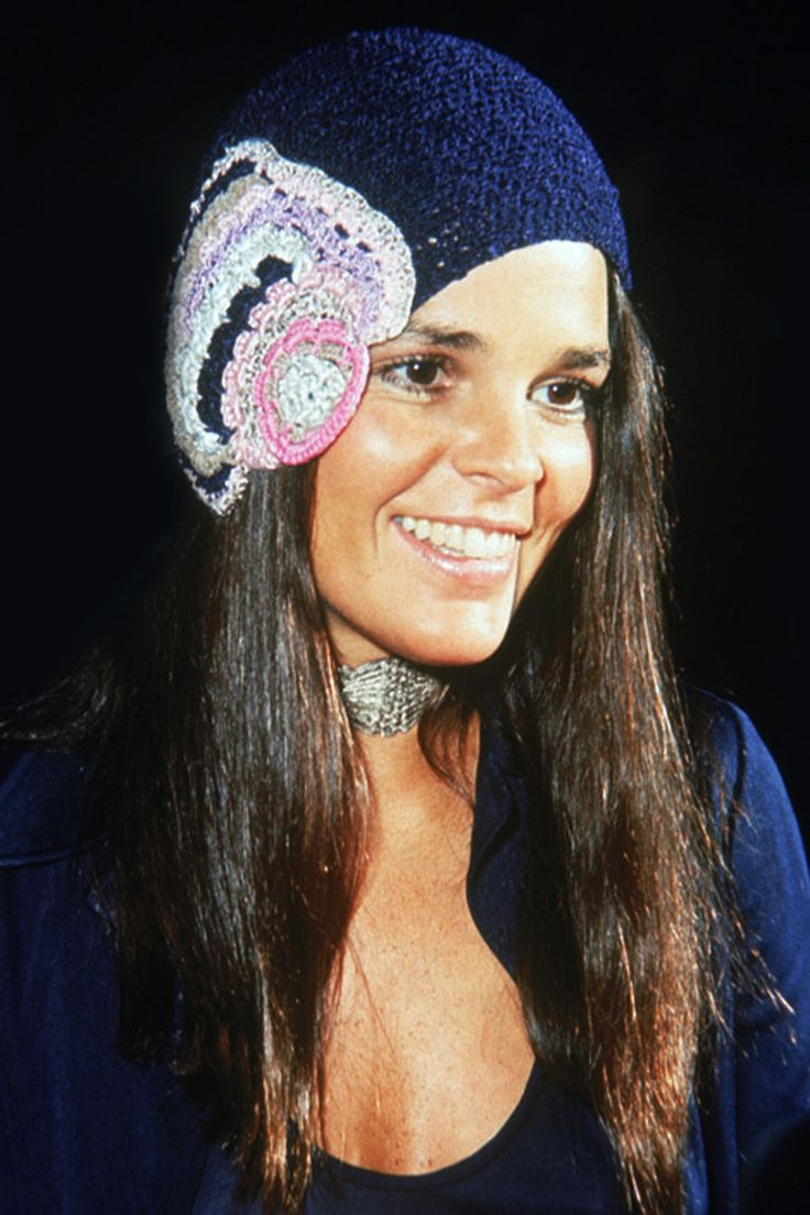 No one wore a crocheted hat like Ali MacGraw. Fashion