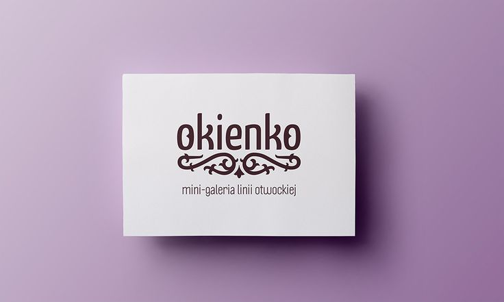 Okienko - shop/gallery logo - by Lotne Studio