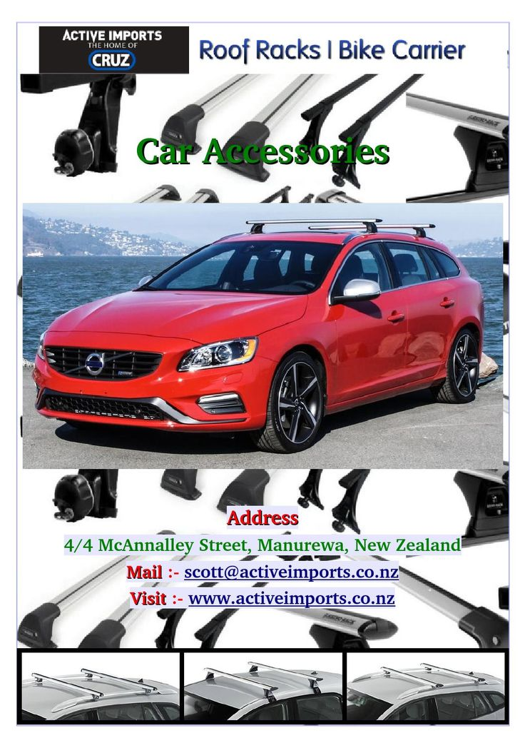 Add a #roof #racks on your car and increase space. Activeimports is sales and fitting agent in South #Auckland at #reasonable prices. We offer a wide range of roof racks.