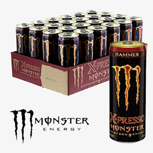 MONSTER X-Presso Midnite  Tear into a can of Monster Energy, the meanest energy drink on the planet. It's the ideal combo of the right ingredients in the right proportion to get the job done like only Monster can.  For more info: http://goo.gl/aMlzRy Call us: +44 7450 170378