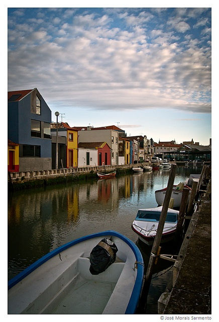Cais dos Botirões, Aveiro by Morsar, via Flickr