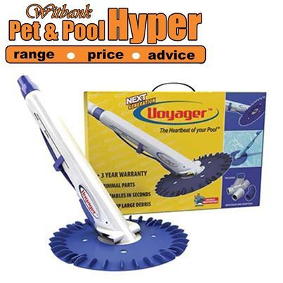 Voyager Advanced Automatic In Ground Suction Side Pool Cleaner Includes 30ft Sectional Hose & Adaptors Excellent Quality & Reliability and available from Pet & Pool Hyper Witbank. #voyager #swimmingpool