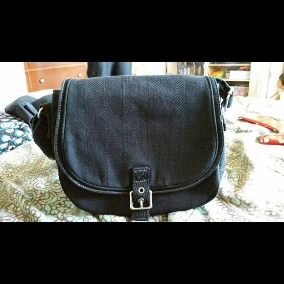 31 bag black hobo Adjustable crossbody bag. Worn once. Excellent condition.  One inner pocket. One outer pocket. Cell phone holder. 31 bag  Bags Hobos