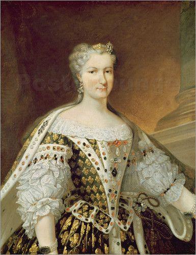 Queen Maria Leszczynska (1703-1768), 18th C by Carle van Loo
