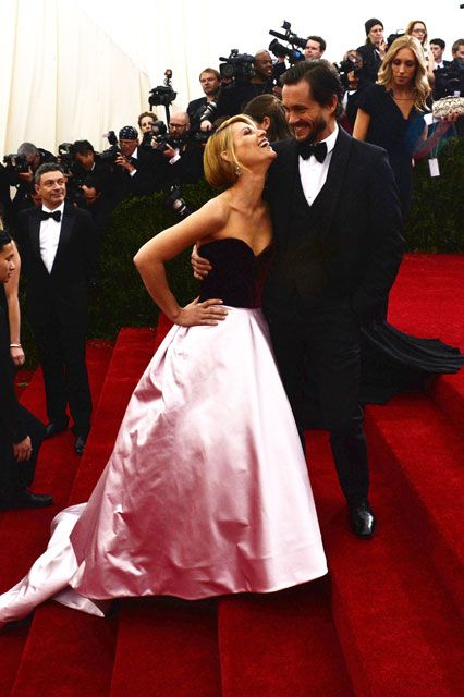 The Met Ball's Cutest Couples #refinery29  http://www.refinery29.com/2014/05/67447/met-ball-cutest-couples#slide15  Claire Danes & Hugh DancyClaire and Hugh can do no wrong. Now, it's great you're having this night out, but isn't it time to get back to work on Homeland? The public is waiting.