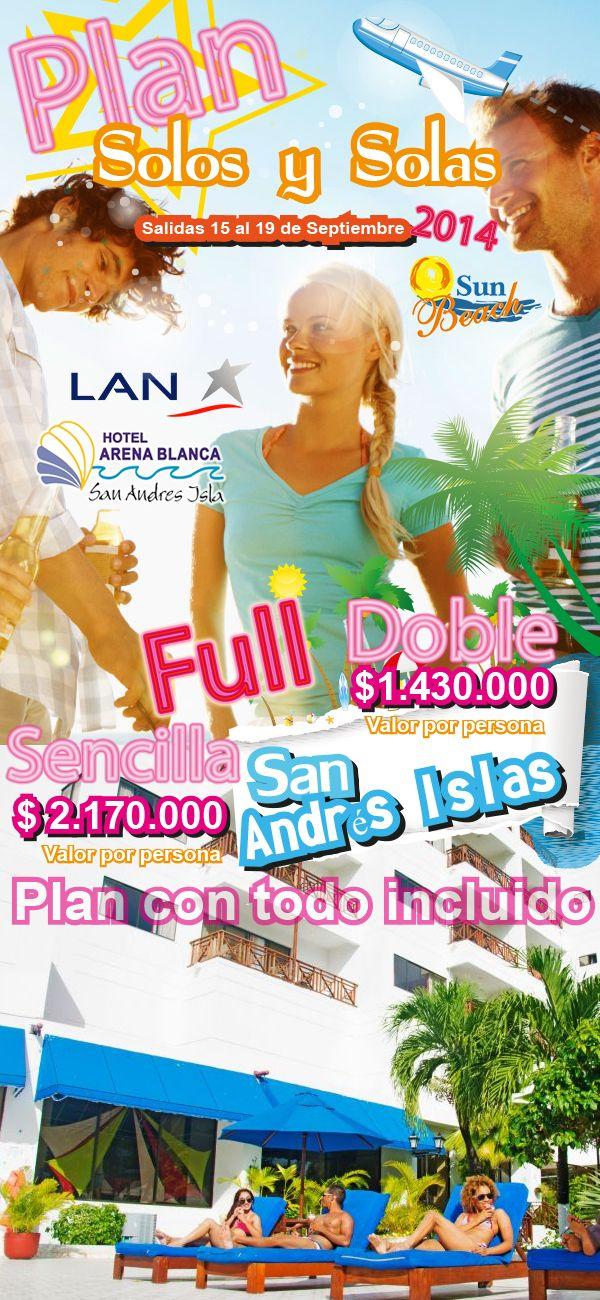 ¡PLAN SOLOS Y SOLAS! desde Cali a San Andrés Islas. Descubre las Ofertas en Destinos y Viaja al Mejor Precio este mes