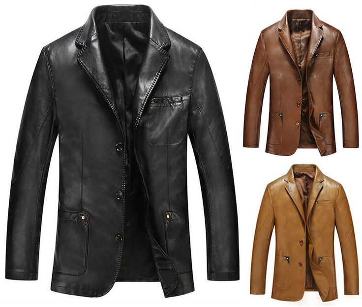 Best 25  Mens leather blazer ideas on Pinterest | Winter fashion ...