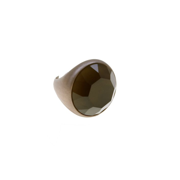 Ring made of sterling silver 925 with quartz stone