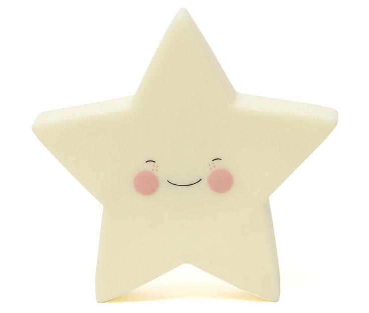 Yellow Star Nightlight